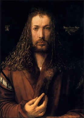 Albrecht Dürer, Self Portrait, 1500