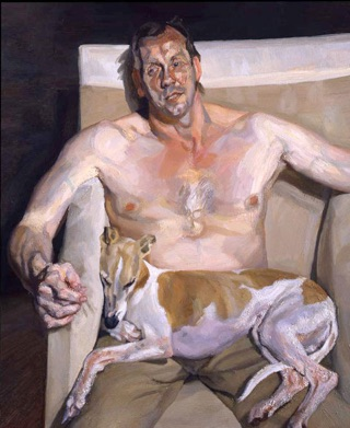 Lucian Freud, Eli and David, 2005-06